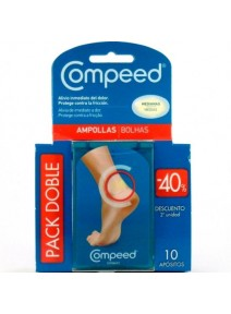 COMPEED  AMPOLLAS T- MED 10 U