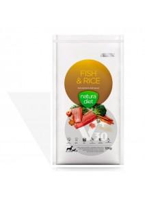 NATURA DIET FISH & RICE 500ML